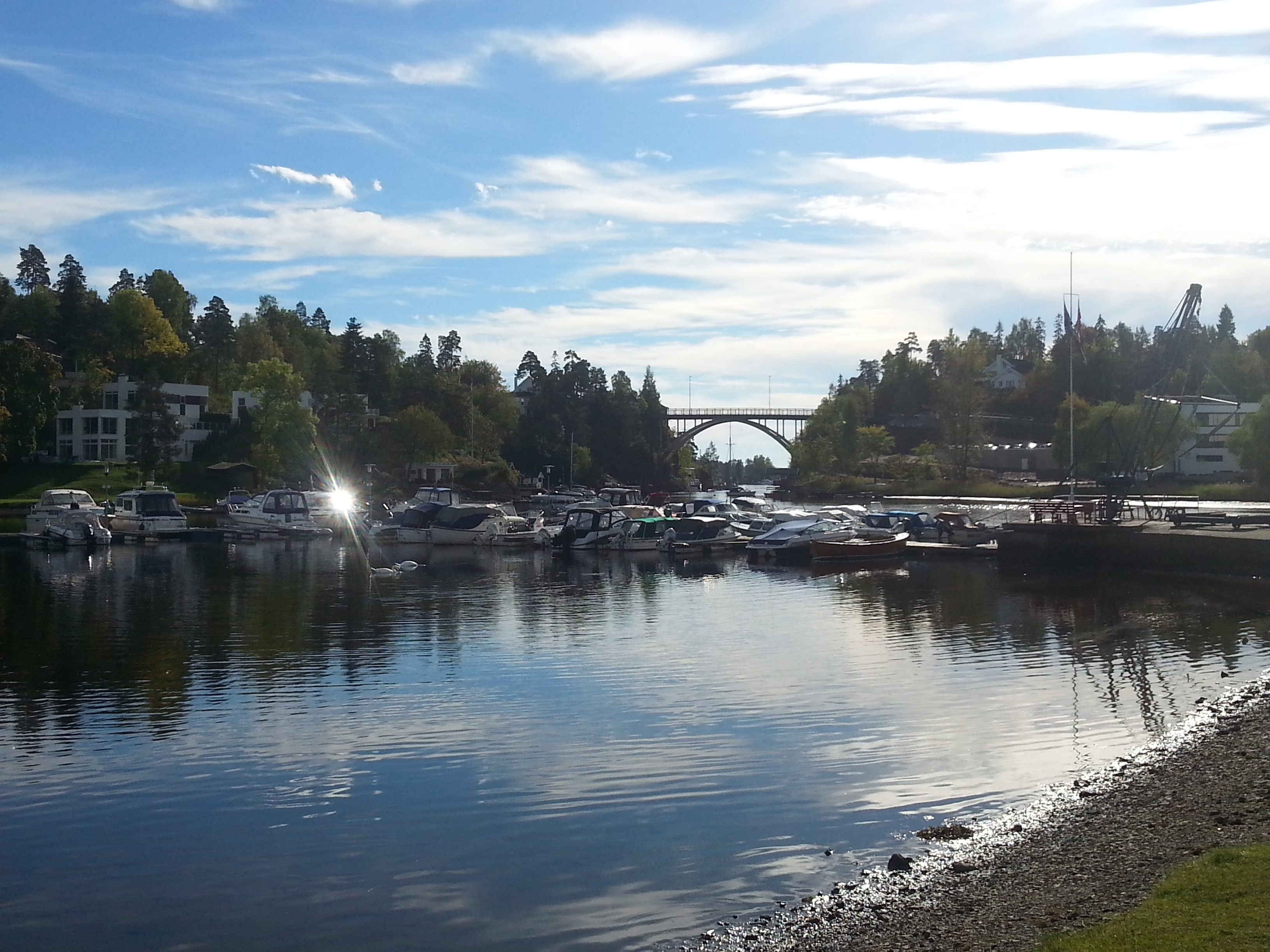 Sandvika – Nesøya – tur/retur…