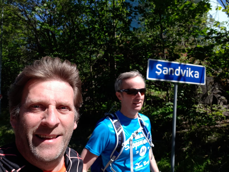 Sandvika – Nesøya – Sandvika t/r…
