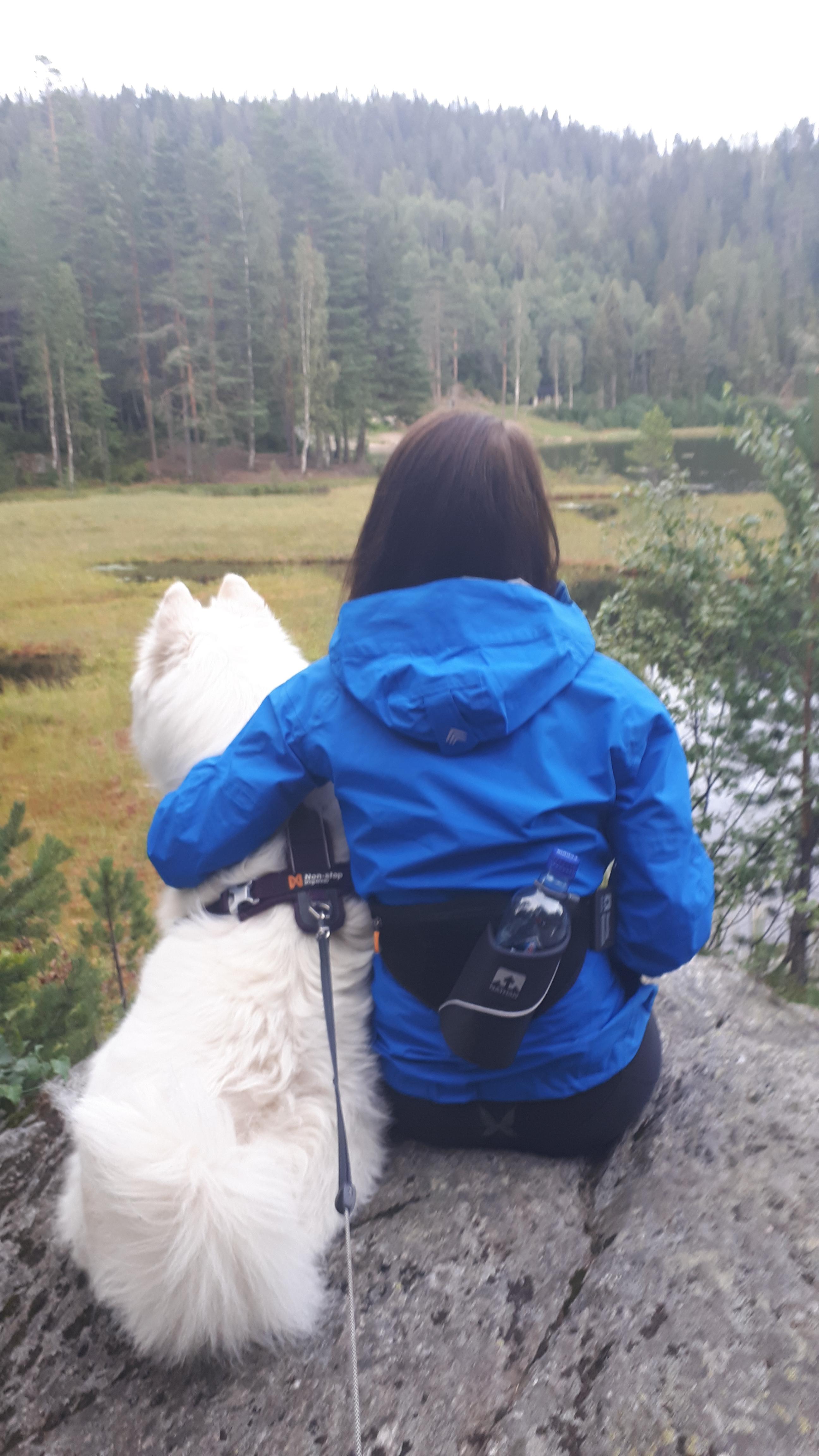 Tur i Lionsstubben fra Bronåssetra (skihytta) i Lørenskog…