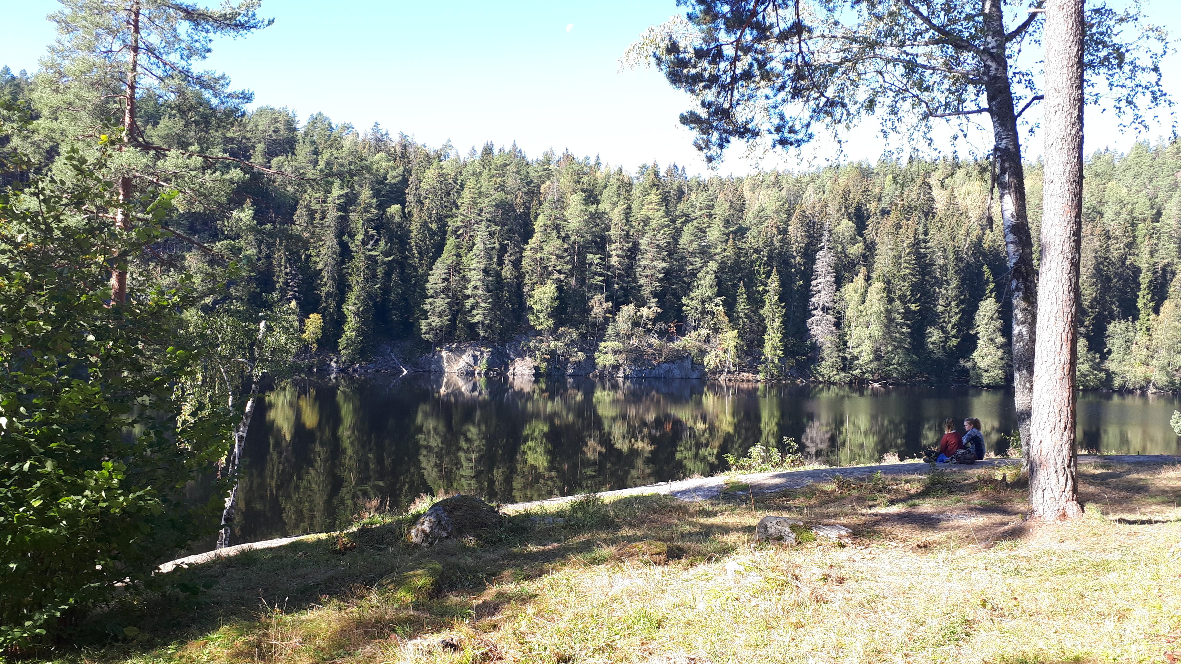 Østmarka; Fra Ellingsrud til Haraløkka med Maya