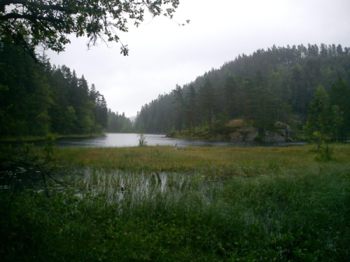 Østmarka; Langvann
