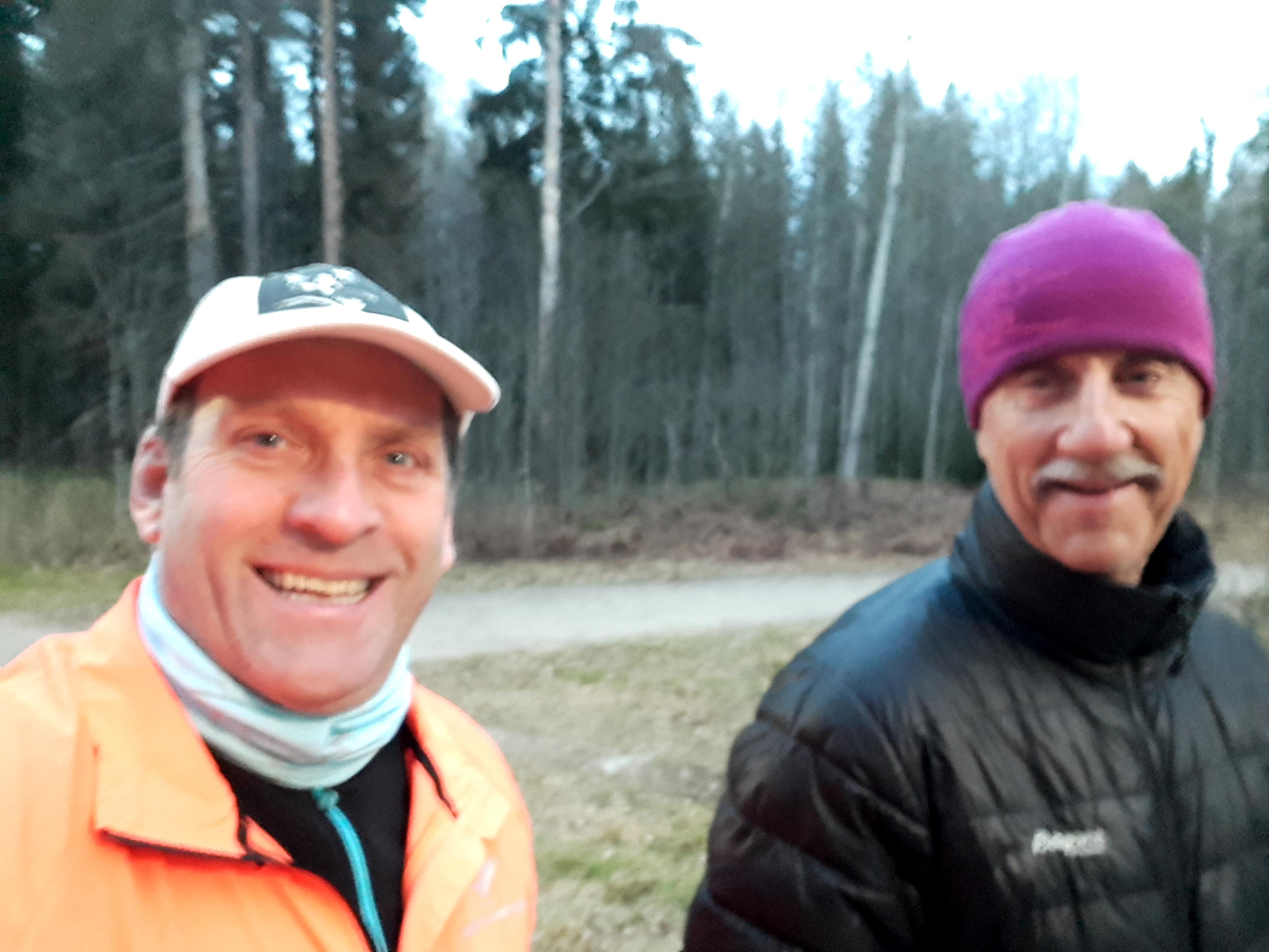 Østmarka; Skravletur med Einar rundt Nøklevann….