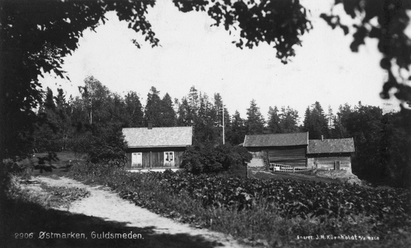 Østmarka; Haraløkka – Gullsmeden – t/r….