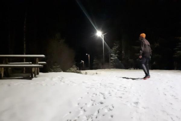 Fra Haraløkka til Hellerud og lysløypa videre i marka…..