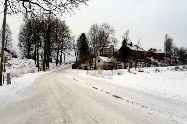Gåggetur i landlige omgivelser….
