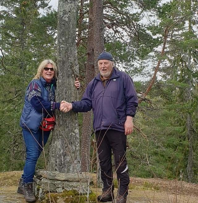 Østmarka; Grønmo – Spinneren tur/retur…..