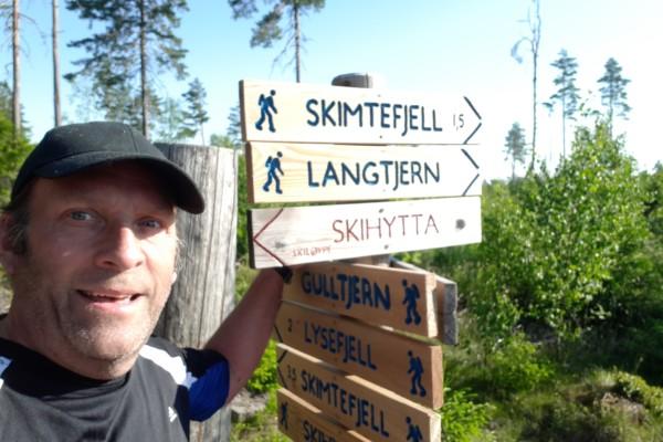 Indre Østfold; Thomasstien – Skihytta – Gulltjern……