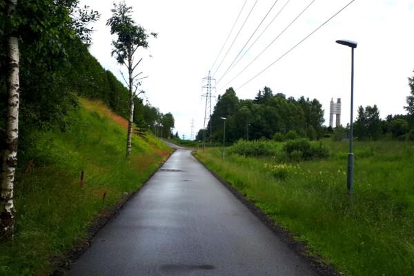 Liten langtur på grus og asfalt…..