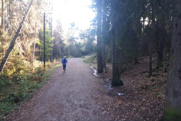Østmarka; Nøklevann rundt og litt til……