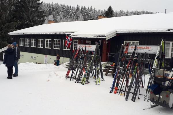 Østmarka; Bolletur til Mariholtet fra Ellingsrud p-plass….