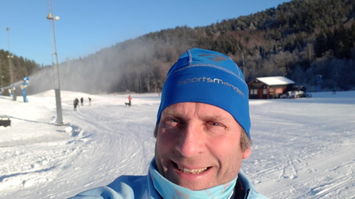 Østmarka; Skitur i deler av Østmarkrunden og Skullerud Idrettsplass…..