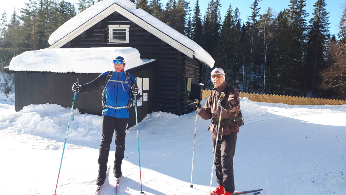 Skitur i Nordmarka fra- og til Skar i Maridalen…….
