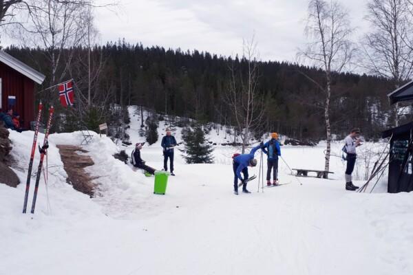 Nordmarka; Skitur fra Frognerseteren til Trehørningen og tilbake…..