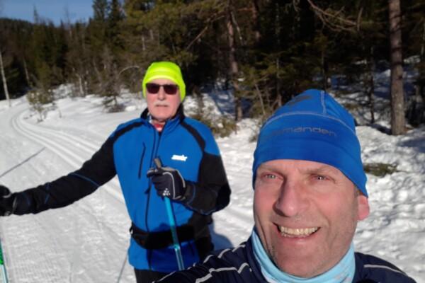 Skitur i Nordmarka fra Frognerseteren til Finnerud og Appelsinhaugen……