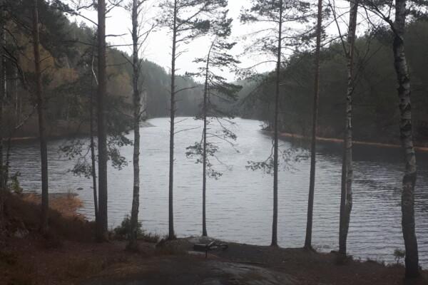 Østmarka; En rundtur fra og til Haraløkka via 10 vann….