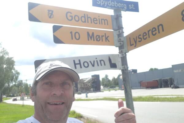 Løpetur i Spydeberg og omegn…..
