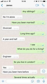 min forlovede går på dating sites