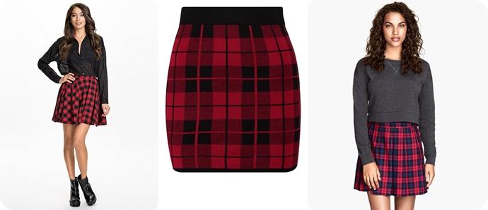 72e7c587 Little Miss Sunshine – Wednesday wish: Tartan skirt