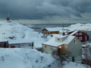 Vinter på Myken