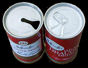 Boksøl, boks, beer can