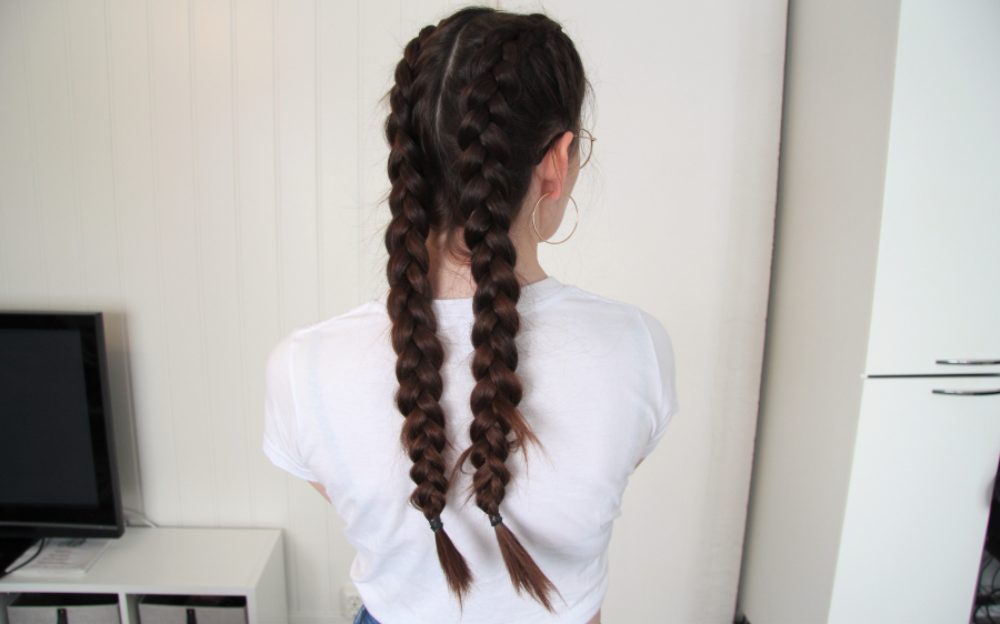 Long hair problem dutch braids
