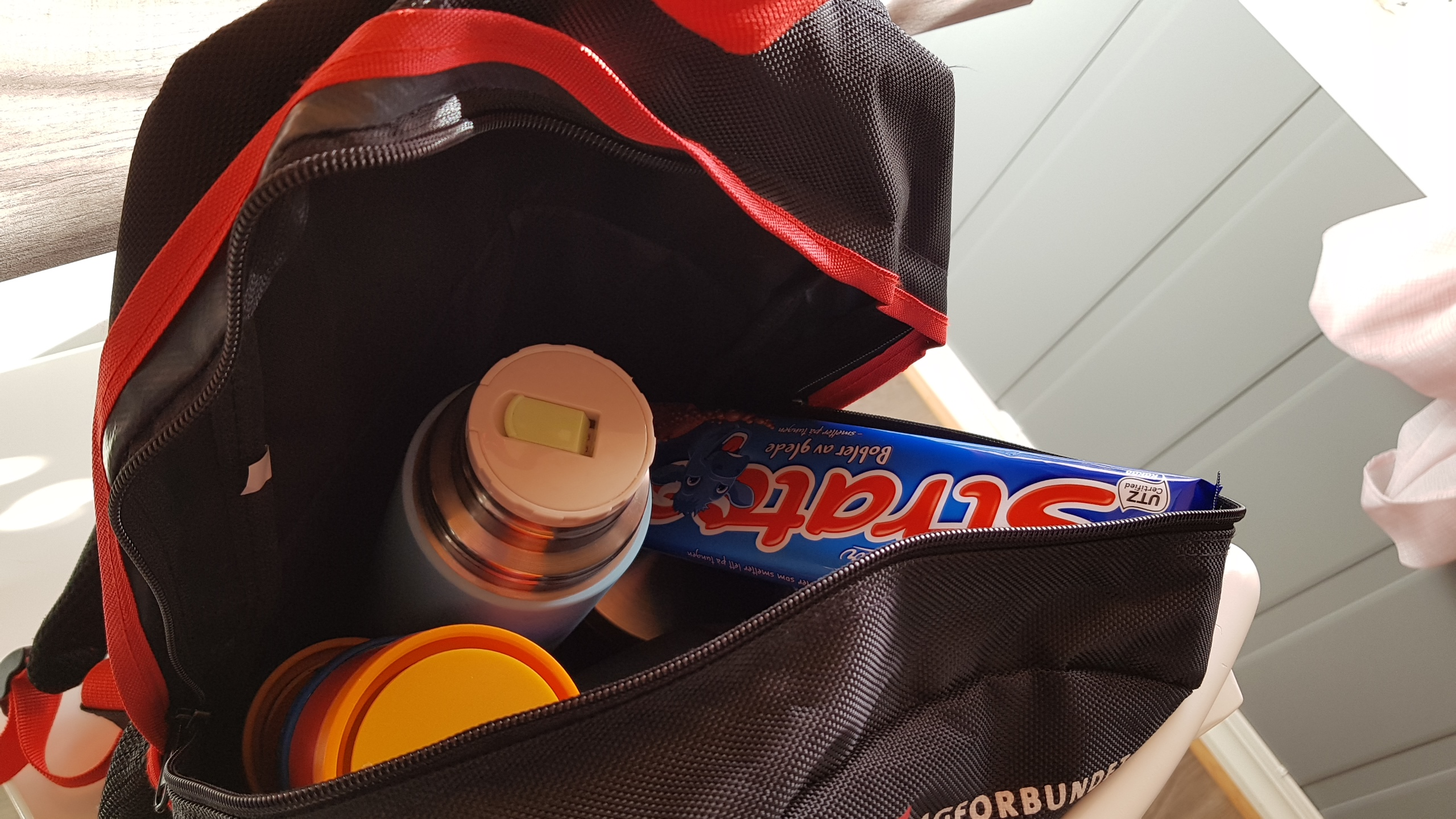 Polaris Sportsman 570. Kaffe og sjokolade.
