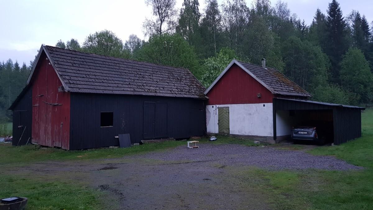 Prosjekt tilhenger ble også prosjekt garasje.