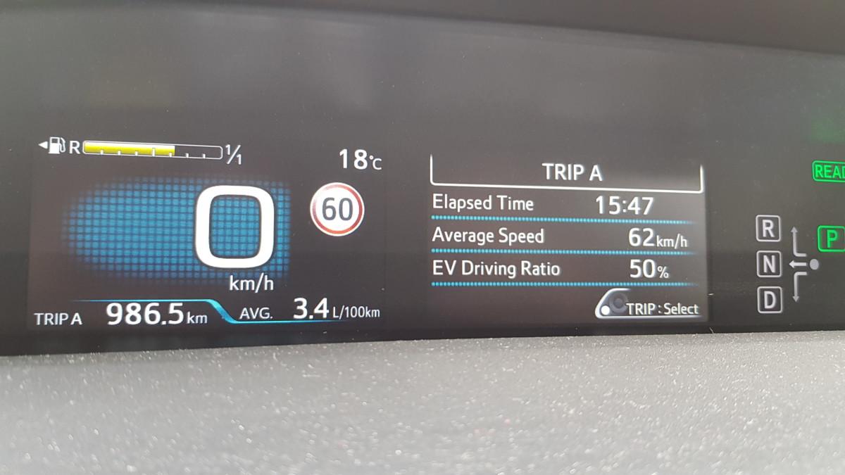 0,34L og 50% strøm.