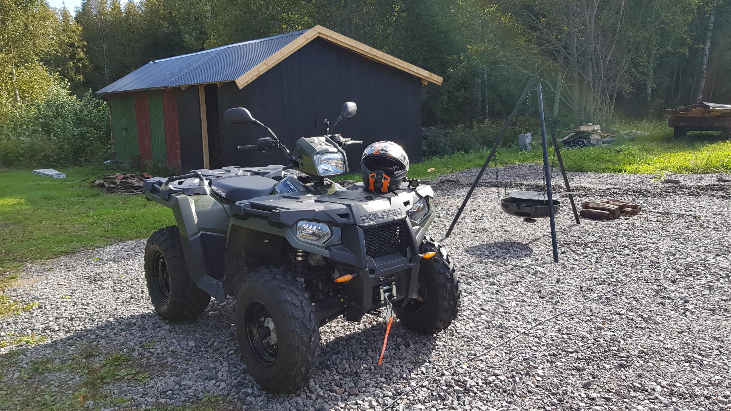 """Finner nye måter å bruker """"traktor'n"""" på."""