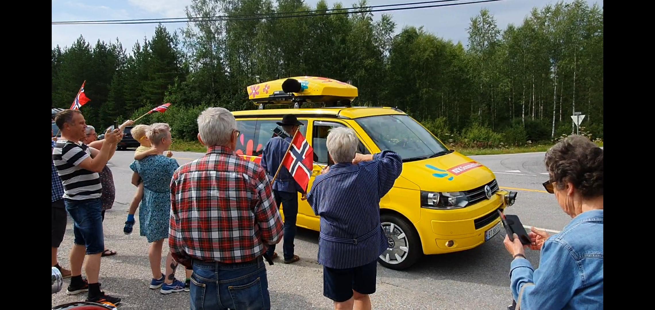 Vi møtte Sommerbilen.