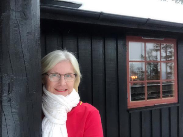VAKKERT LYS OG MASSEVIS AV SNØKRYSTALLER