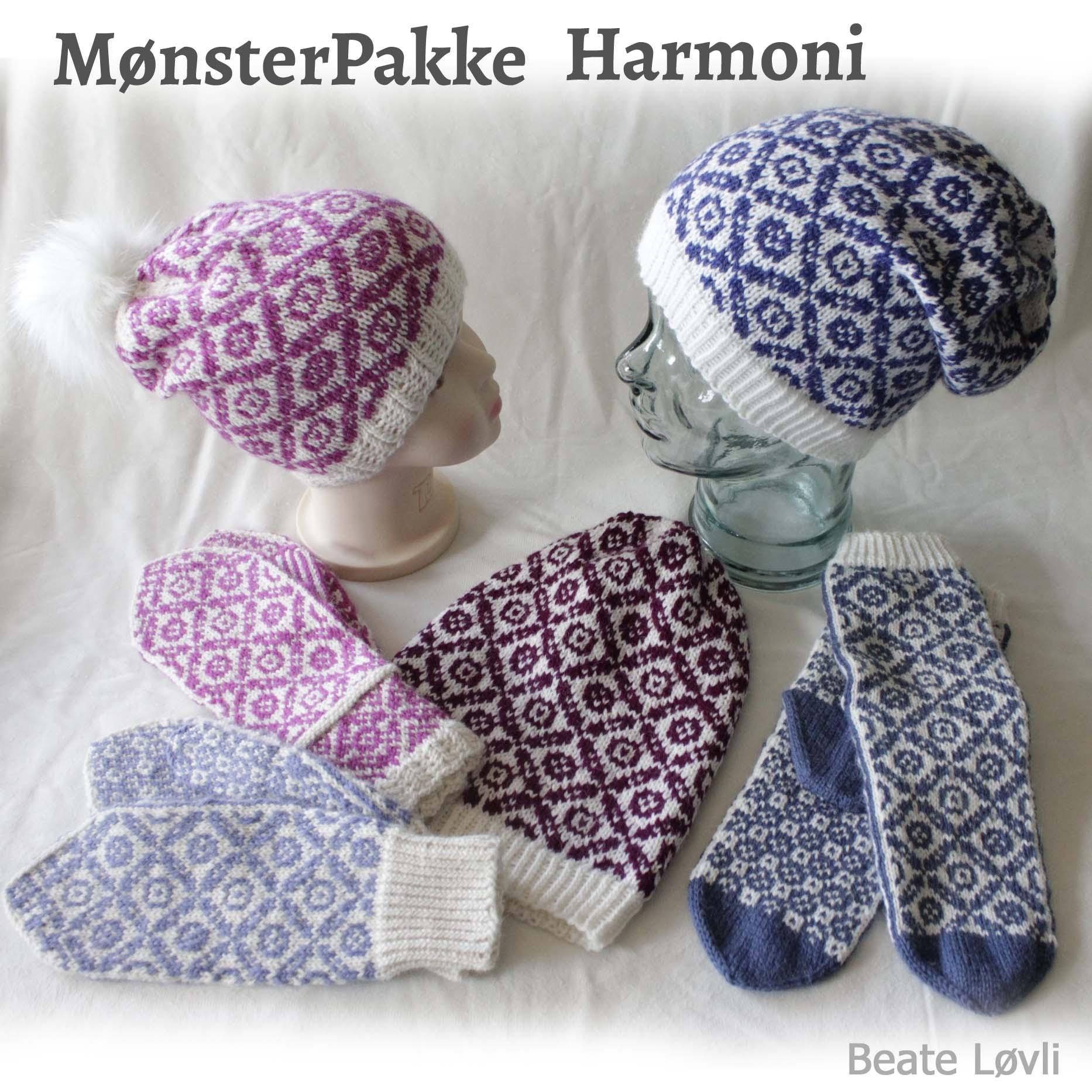 mønsterpakke harmoni