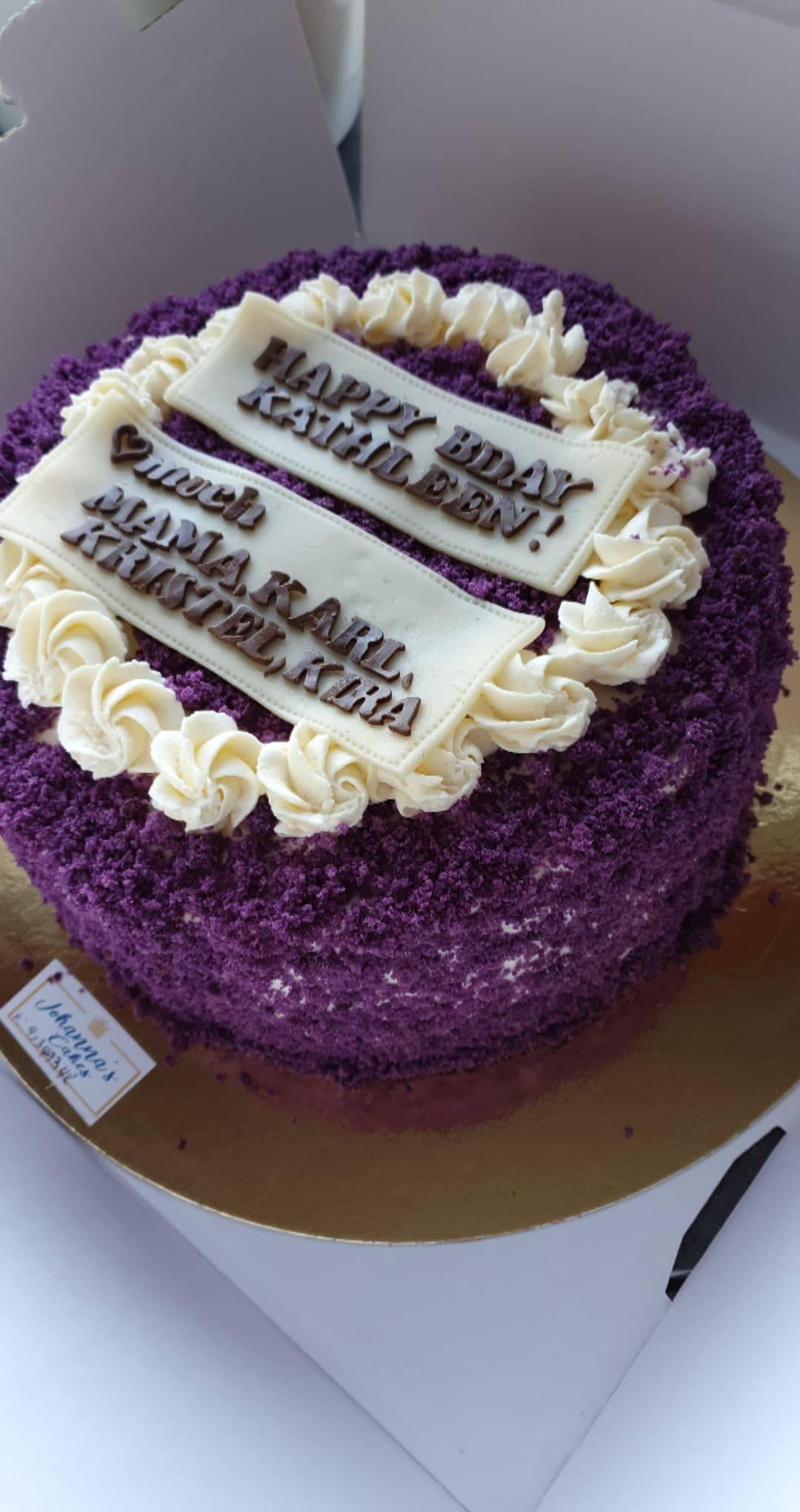 Fashion Happy Birthday Cake For Kathleen