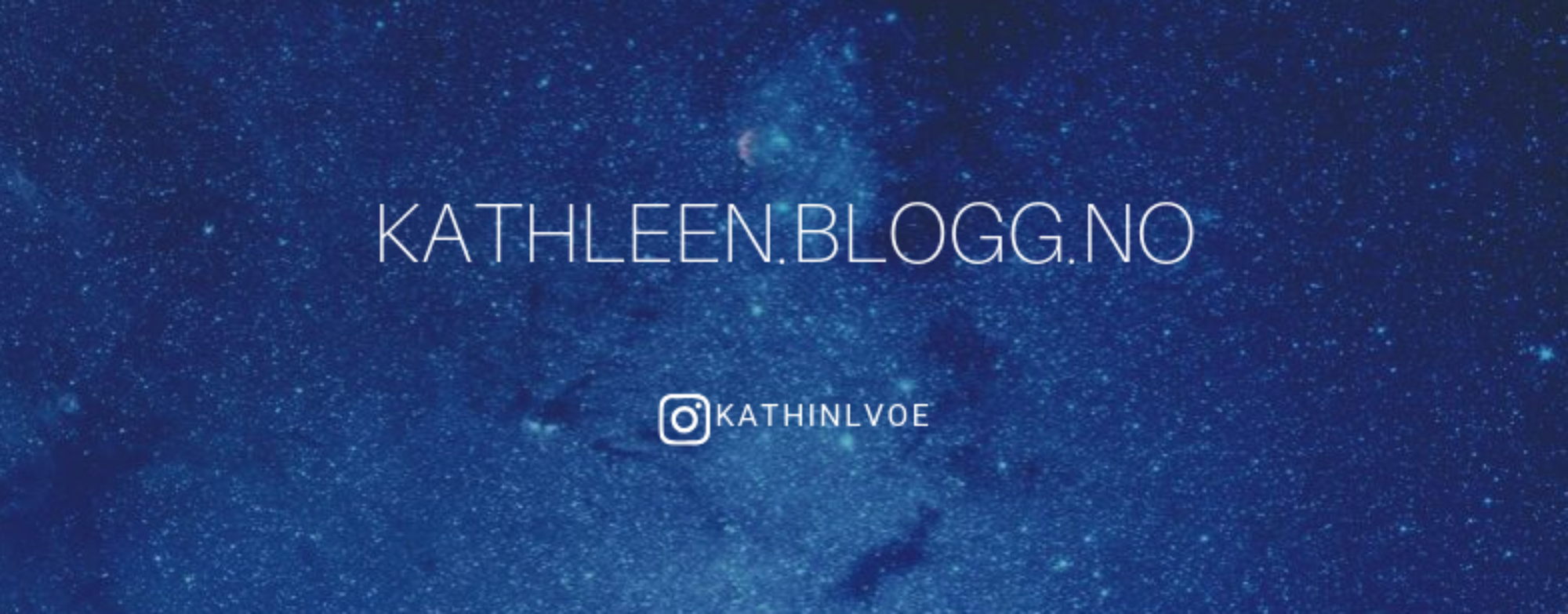 Kathleen.blogg.no
