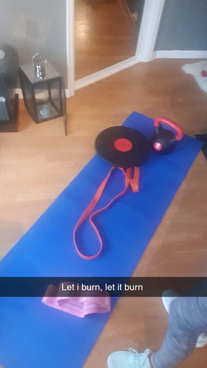 Utstyr til hjemme trening