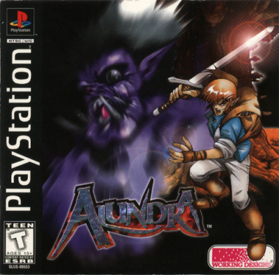 Arc the Lad og Alundra på psn i usa