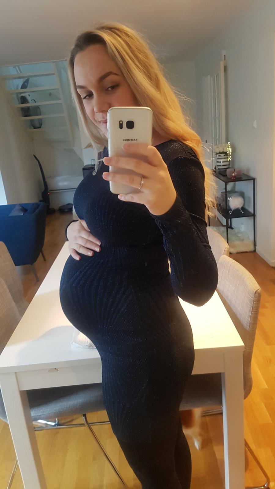 gravid uke 35 mindre bevegelse