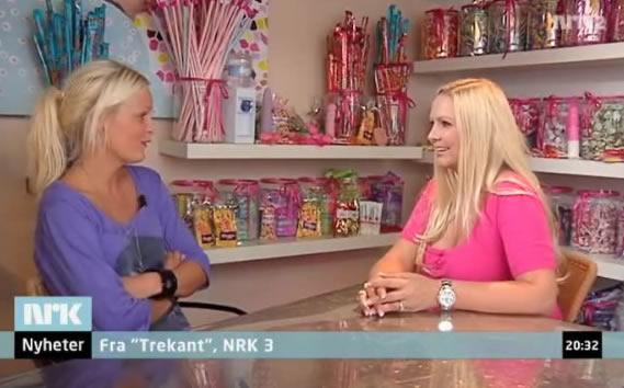 """Bilde fra første episode av """"Trekant"""" på NRK."""