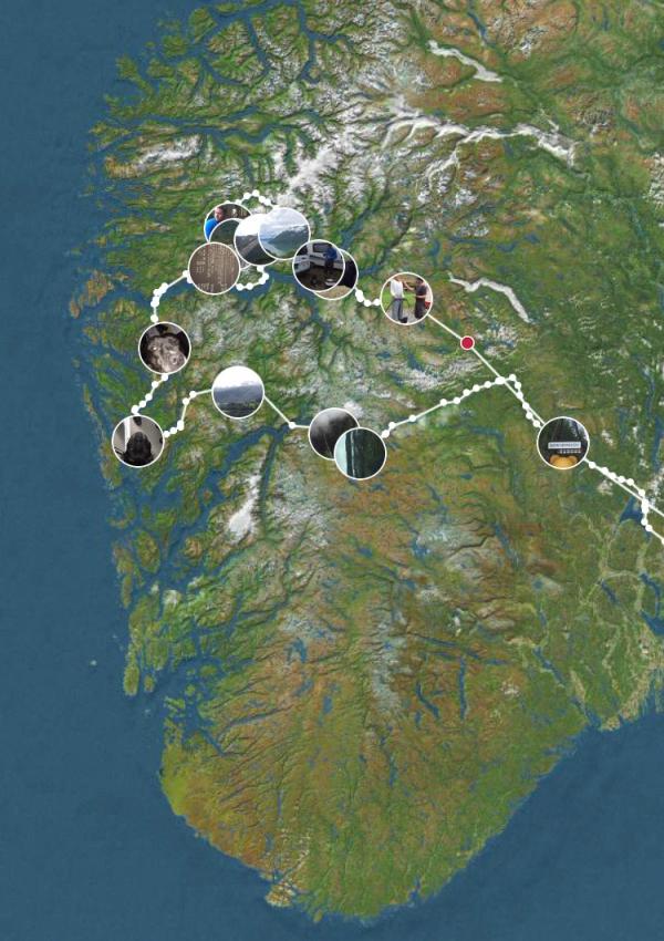 Reiserute vestlandsferie