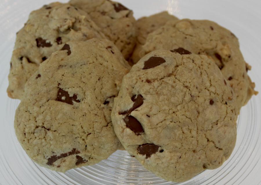 aadec2d42 wannabebakeblogger – Cookies med sjokolade og hasselnøtter