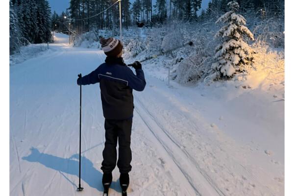 Skitur i Trøsken