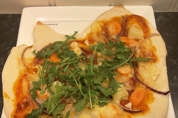 Hjemmelaget italiensk pizza
