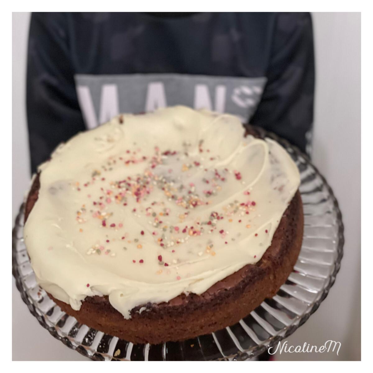 hvit sjokoladekake