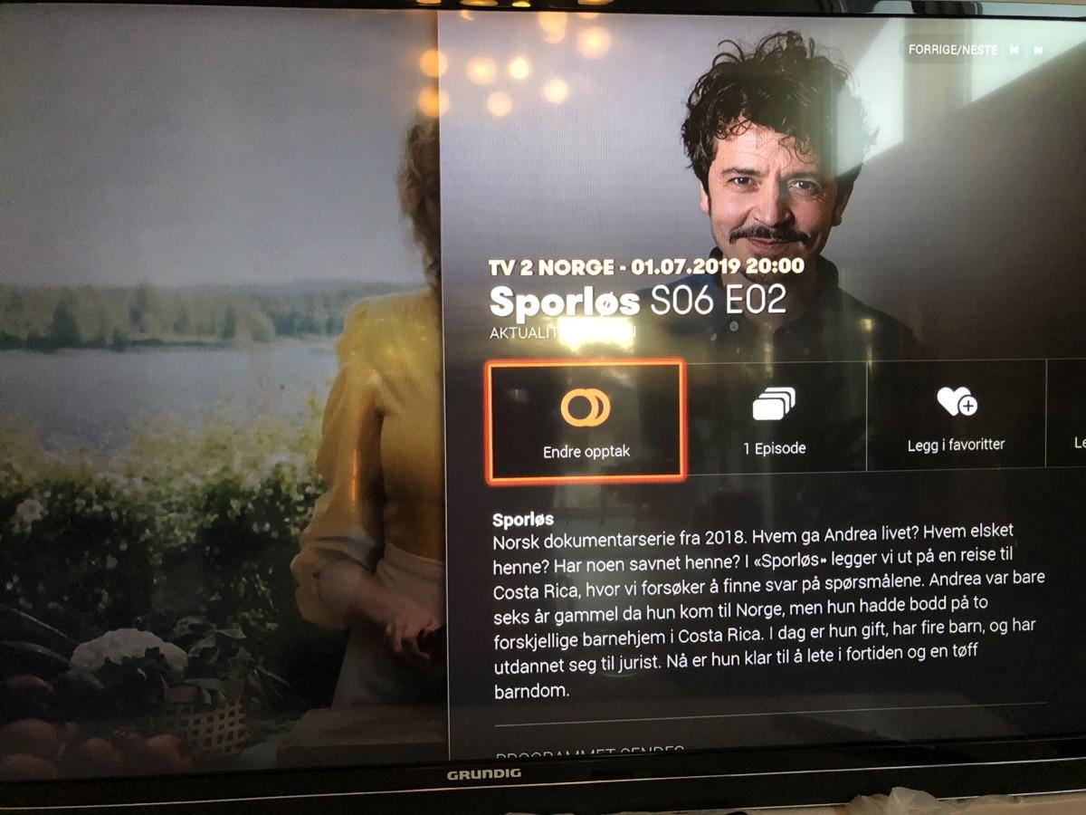 tv 2 no sporløs