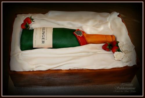 "Temakake ""Jordbær & Champagne"""