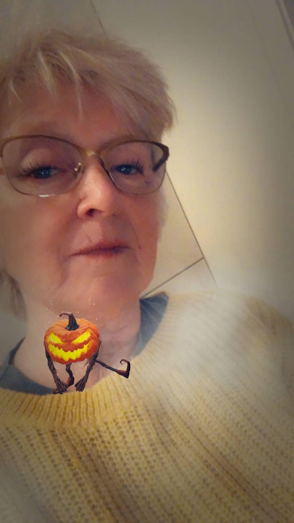 Halloween på Snapchat