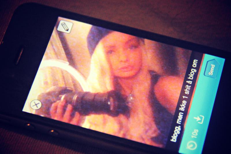 Snapchat bilde elise sophie Sophie elise