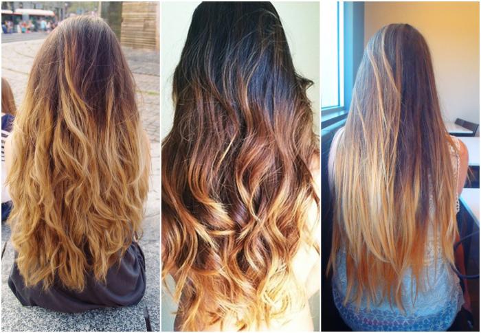 bleke håret fra svart til blondt