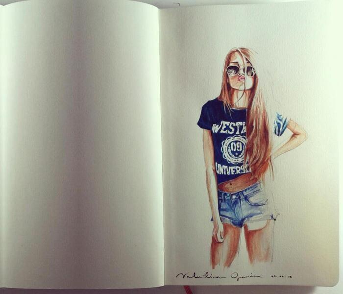 Kristine Ulleb 248 Tegning