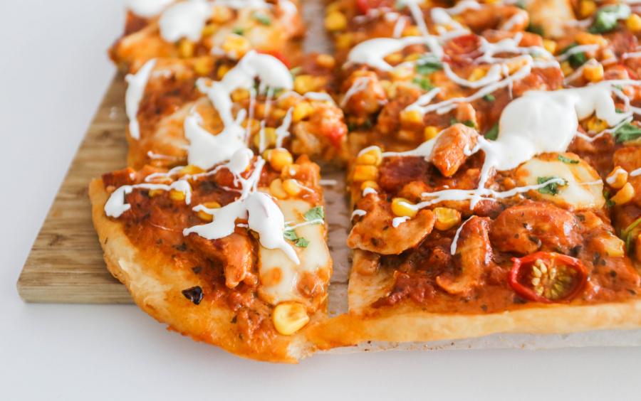 pizza oppskrift